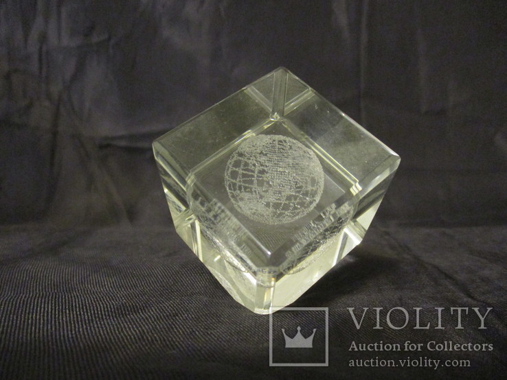 Кубик с Земным шаром, фото №3