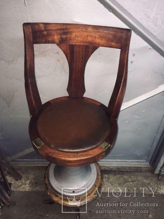 Круглый стул-кресло с парохода
