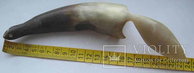 Куница из рога сувенир СССР, фото №10