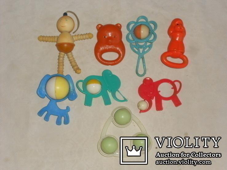 Старые игрушки - погремушки., фото №2