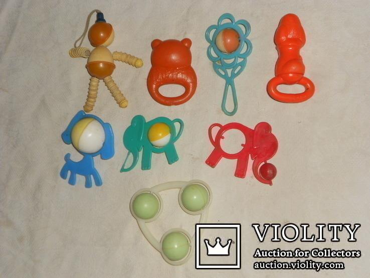 Старые игрушки - погремушки., фото №4