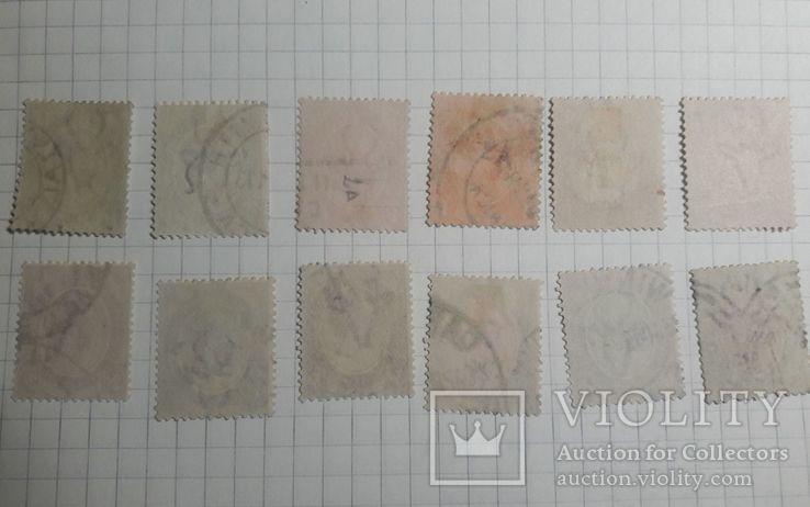Старинные марки Южной Африки 1913- 1922 гг., фото №5
