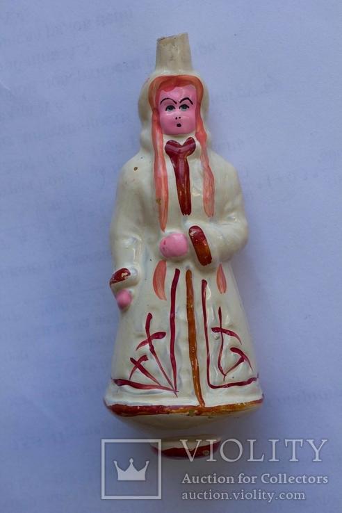 Елочная игрушка Снегурочка №34012, фото №2