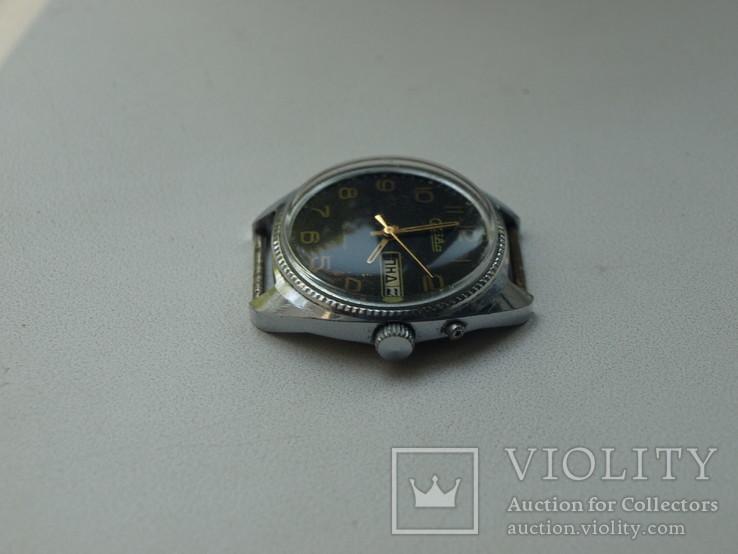 """Часы """"Слава"""", СССР,  26 камней, рабочие, фото №8"""