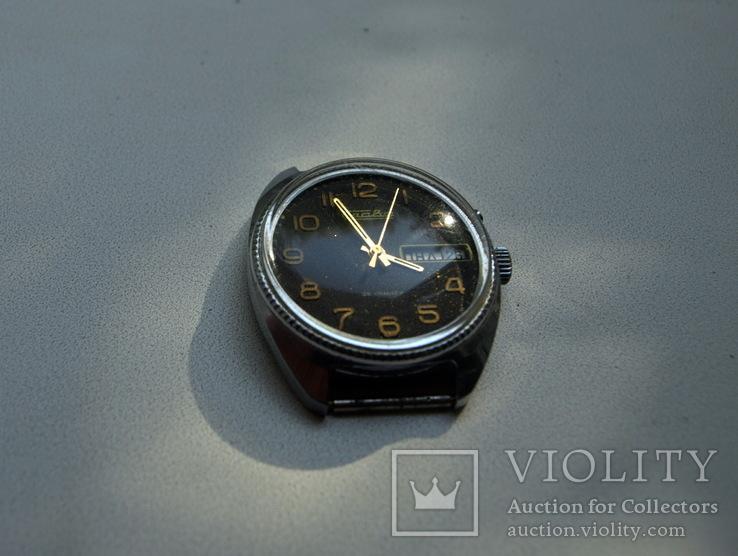 """Часы """"Слава"""", СССР,  26 камней, рабочие, фото №9"""
