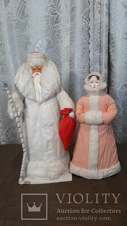 Дед Мороз и Снегурочка, фото №2