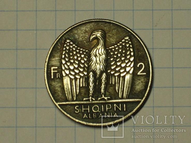 2 Франка 1926 Албания копия, фото №3