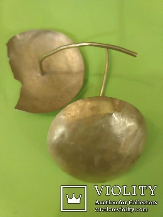 Золотые украшения начала 1 тыс. до нашей эры 20.1 гр, фото №4
