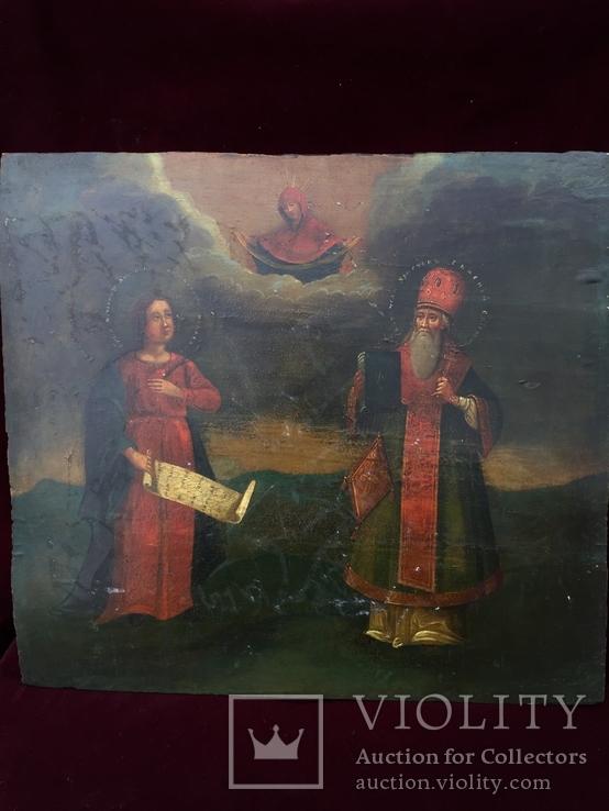 Икона Антонина и Евмений, фото №2