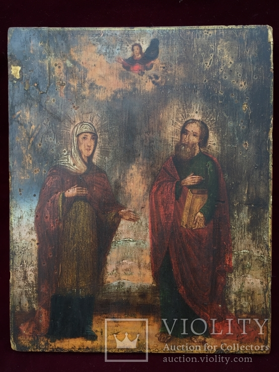 Икона Святые, фото №2
