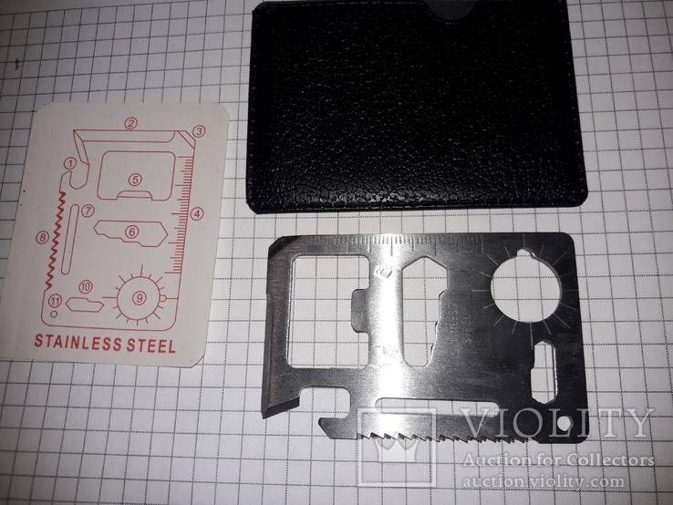 Мультитул кредитка, фото №3