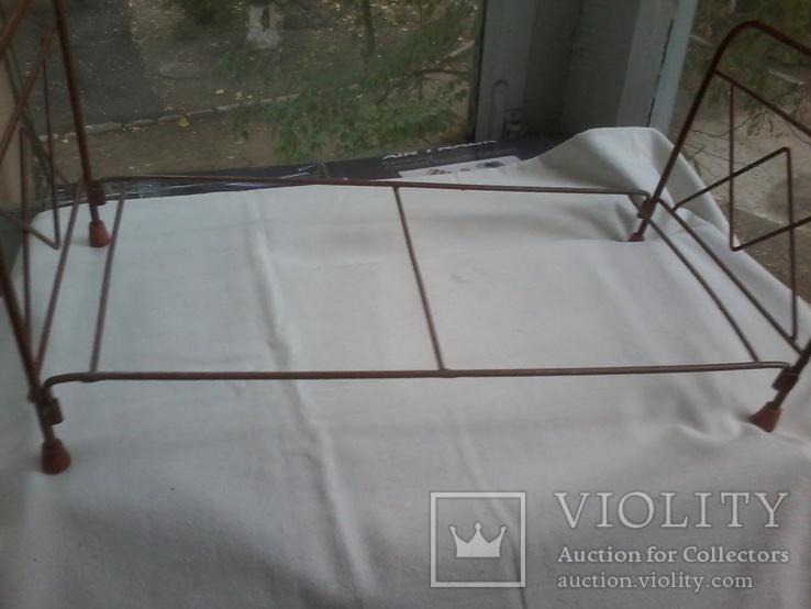 Кровать кукольная с мягким матрацем, фото №6