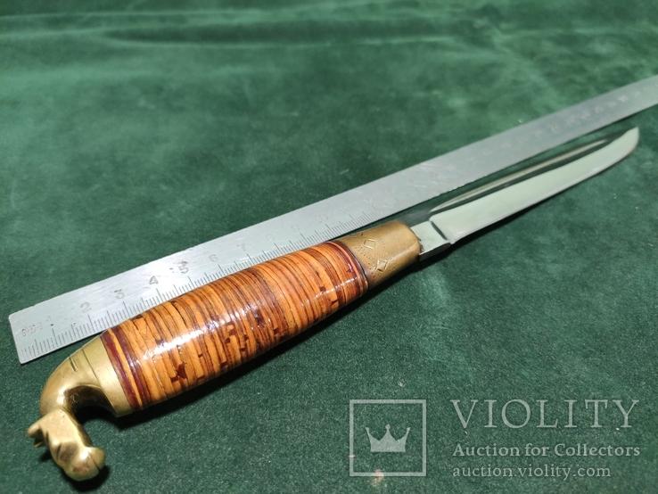Нож финский Иисакки Ярвенпаа из Каухавы, фото №10