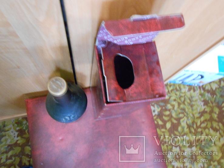 Бутылка и коробка от коньяка Наполеон,оригинал., фото №4