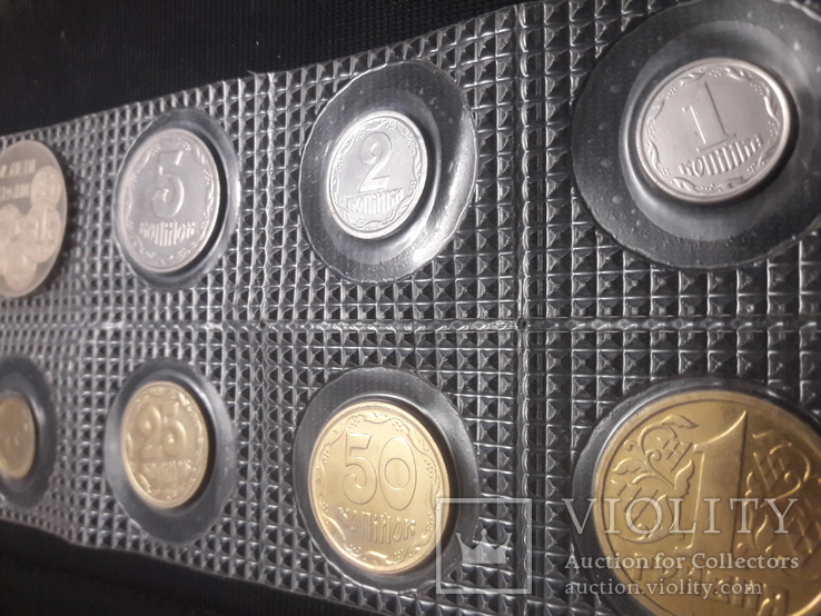 Набор расходной мелочи Украины за 1996 / UNC, фото №5