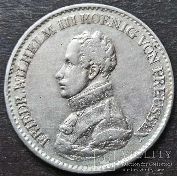 1 Талер 1819 Пруссия. Фридрих-Вильгельм III., фото №2