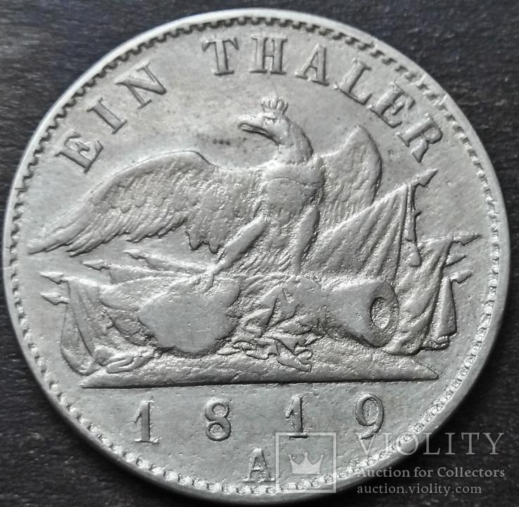 1 Талер 1819 Пруссия. Фридрих-Вильгельм III., фото №11