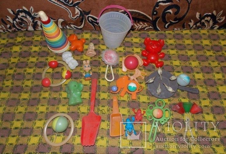 Погремушки и игрушки для малышей СССР, фото №4