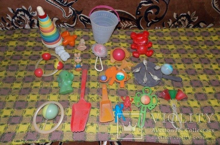 Погремушки и игрушки для малышей СССР, фото №6