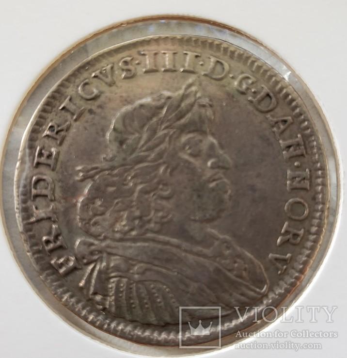 Дания 2 марки 1666