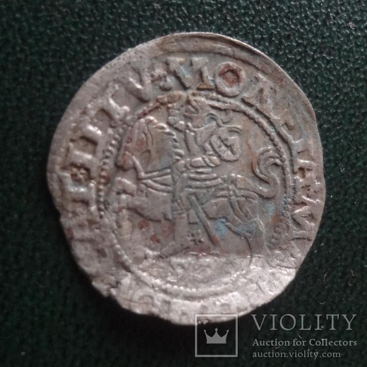 Полугрош  1565  серебро    (Й.1.5)~, фото №3