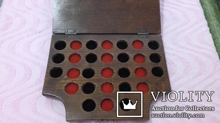 Планшет на 29 монет-пуговиц., фото №5