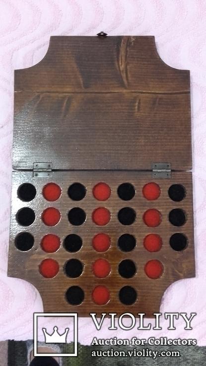 Планшет на 29 монет-пуговиц., фото №7