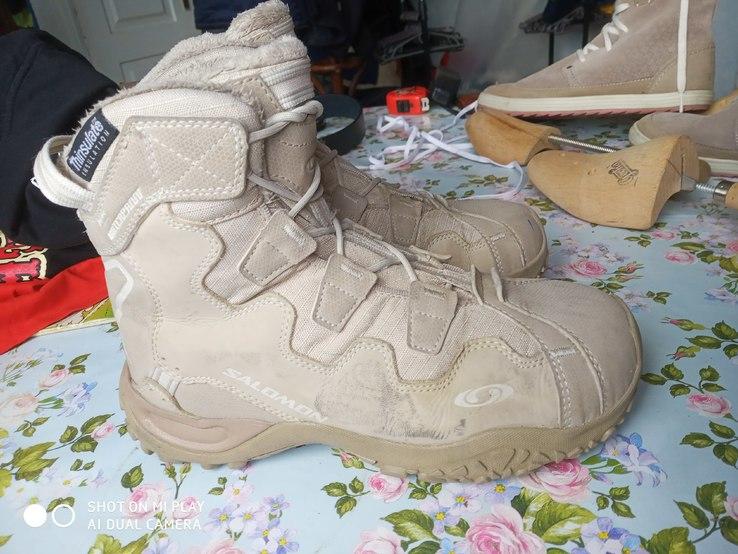Ботинки Salomon 38/23.5, фото №9
