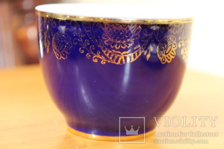 Чайная пара ЛФЗ 8 Марта кобальт, фото №4