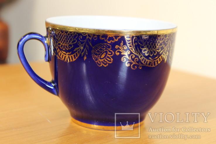 Чайная пара ЛФЗ 8 Марта кобальт, фото №5