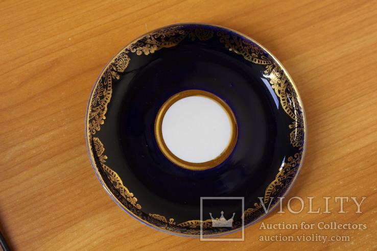 Чайная пара ЛФЗ 8 Марта кобальт, фото №9