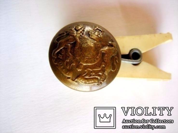 Старовинний бронзовий гудзик 2, фото №3
