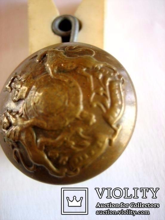 Старовинний бронзовий гудзик 2, фото №4