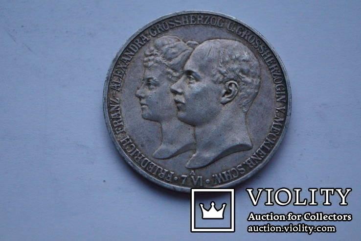 5 марок 1904 р. Мекленбург-Шверін., фото №10