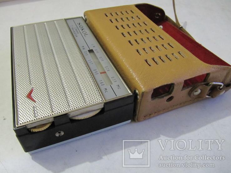 Радиоприёмник Сокол 1966 год в упаковке с паспортом (на экспорт)., фото №8