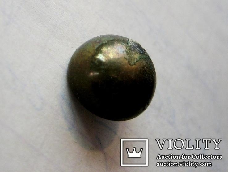 Старовинний бронзовий гудзик 9, фото №5