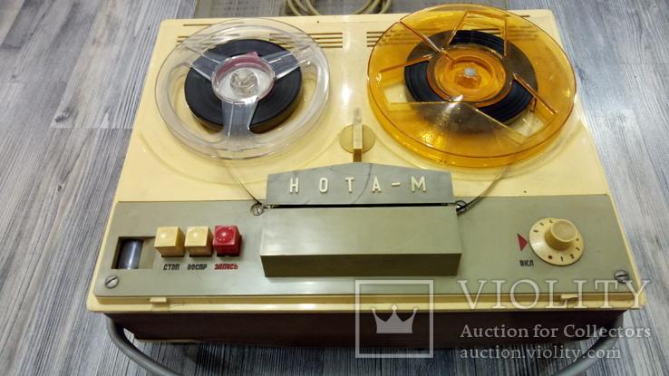 Бобинный магнитофон Нота - М, фото №2