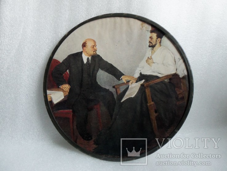 Панно настенное Ленин и Свердлов., фото №2