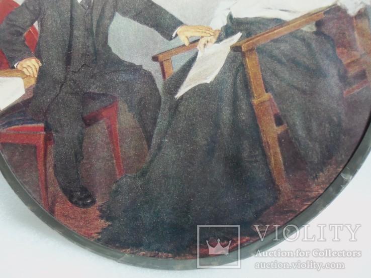 Панно настенное Ленин и Свердлов., фото №5