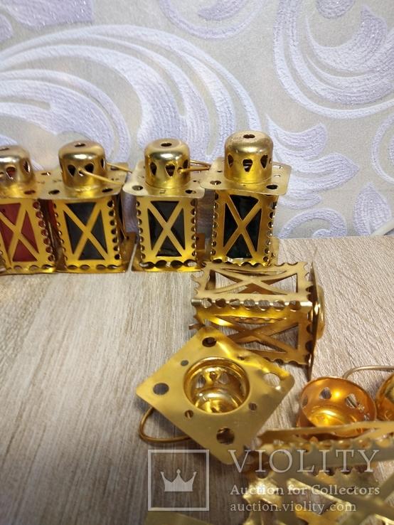 Елочные фонарики  на ёлку СССР, фото №4
