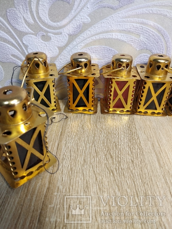 Елочные фонарики  на ёлку СССР, фото №5