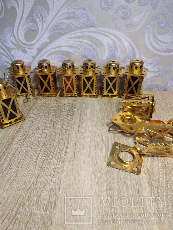 Елочные фонарики  на ёлку СССР, фото №6