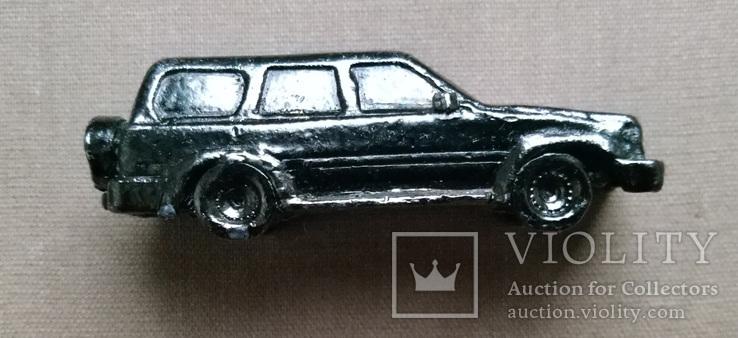 Машинка металл, цельнометаллический джип 50 их годов, фото №2