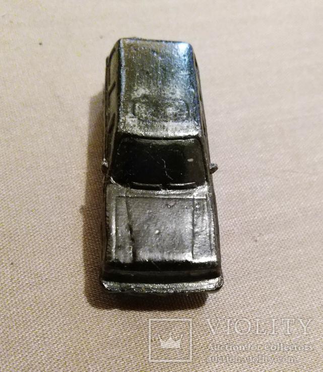 Машинка металл, цельнометаллический джип 50 их годов, фото №3