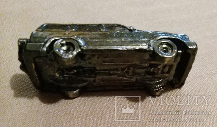 Машинка металл, цельнометаллический джип 50 их годов, фото №5