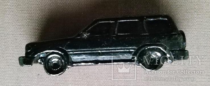 Машинка металл, цельнометаллический джип 50 их годов, фото №8