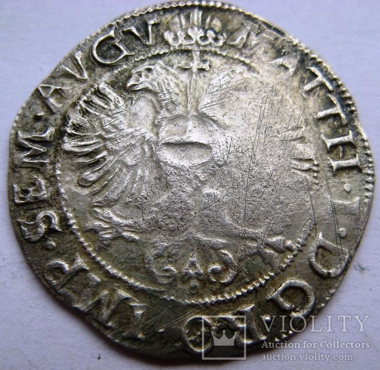 ZWOLLE, серебряный арендшиллинг Маттиас I (1619-1628), фото №2
