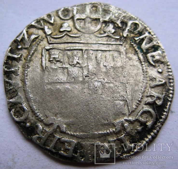 ZWOLLE, серебряный арендшиллинг Маттиас I (1619-1628), фото №3