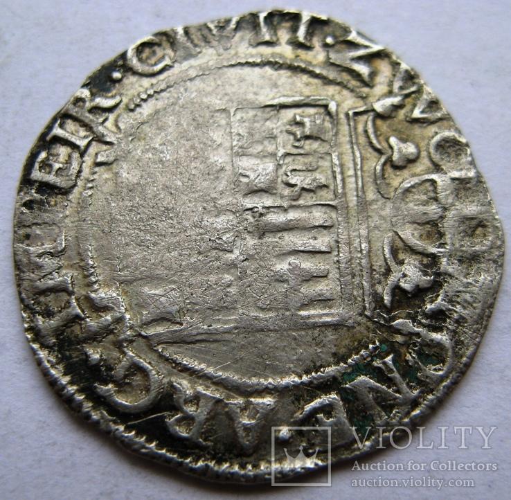 ZWOLLE, серебряный арендшиллинг Маттиас I (1619-1628), фото №5