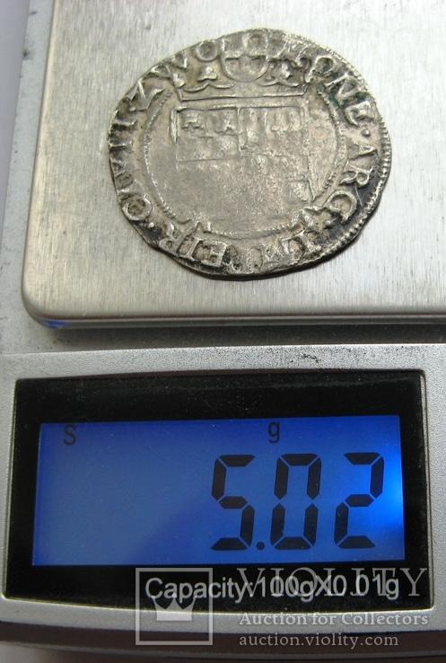 ZWOLLE, серебряный арендшиллинг Маттиас I (1619-1628), фото №7